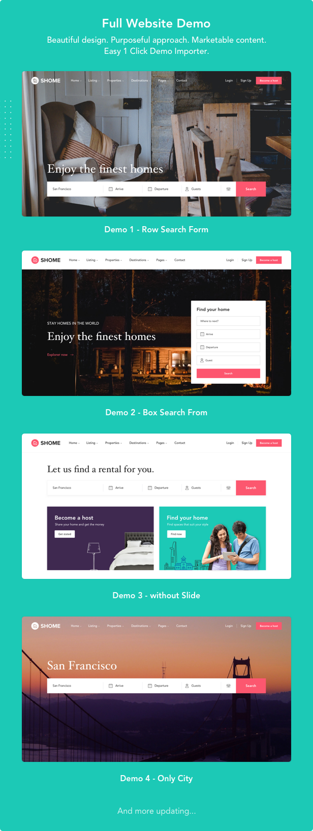 SHome | Marketplace Real Estate WordPress Theme - 6