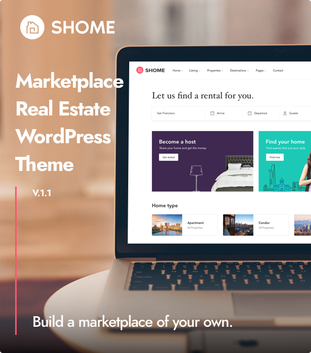 SHome | Marketplace Real Estate WordPress Theme - 4