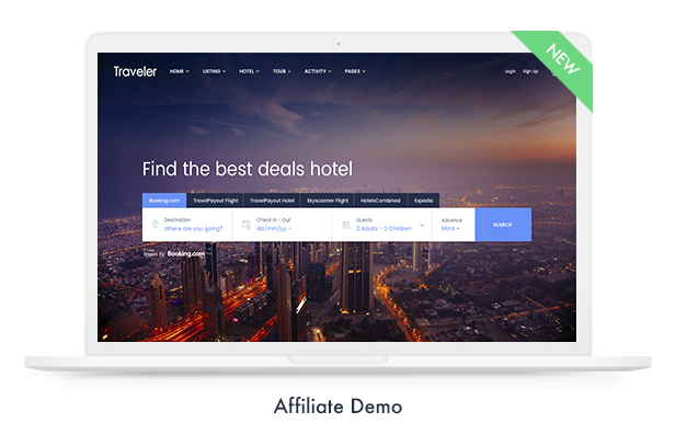 Travel Booking WordPress Theme - 15
