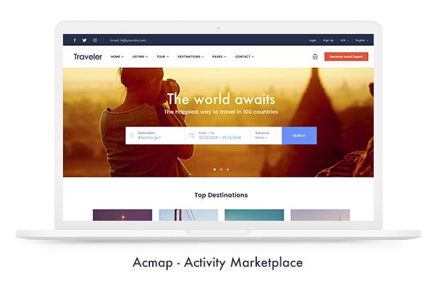 Travel Booking WordPress Theme - 11