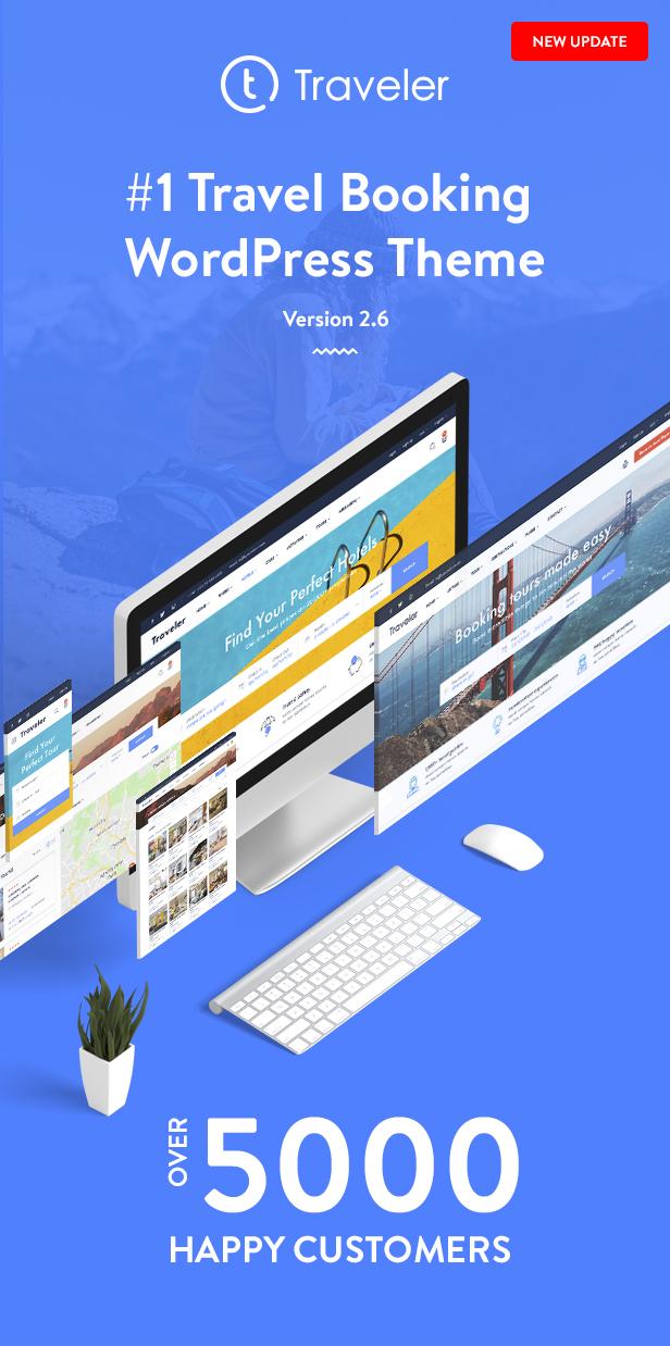 Traveler - Travel Booking WordPress Theme - 6