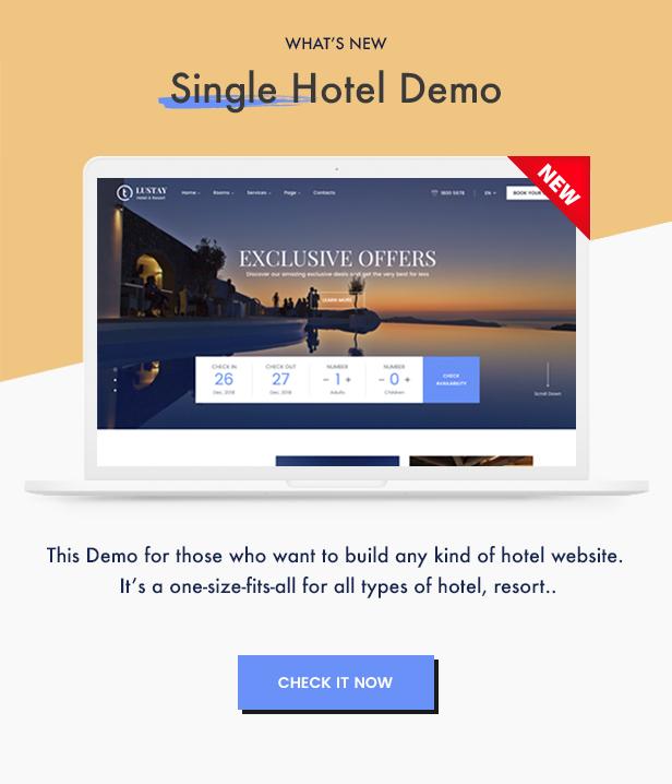 Traveler - Travel Booking WordPress Theme - 5